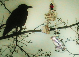 "Original  ""Raven""  Necklace!"