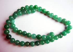 "15 1/2"" Strand of 8mm Green Aventurine *Extras*"