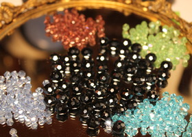 350 Pcs Swarovski Crystal Beads