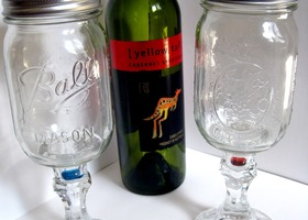 Hillbilly Wine Glasses Set of 2