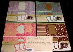 "Miss Elizabeth 12""x12"" Photo Cardmaking and Card Stock Paper 54 Sheets"