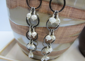 Jewelry Earrings Jessie Cultured Pearls Sterling Silver