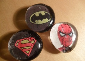 Super Hero Magnet Set
