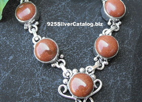 Sun Sitara (Goldstone)  Necklace #0509