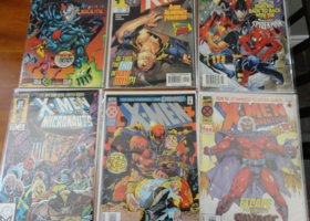 Lot of 6 Xmen Comic Books!