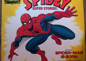 Vintage Spiderman 1977 Album Vinyl LP