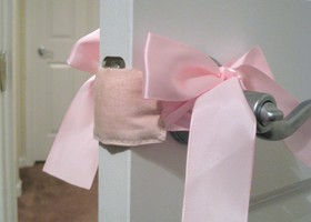 Baby's Room Door Muff - Solid Colors - You Choose!