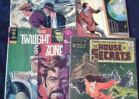 4 Early 1970's Horror/Sci Fi Comics