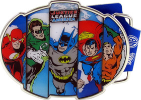 Licensed Justice League America Buckle
