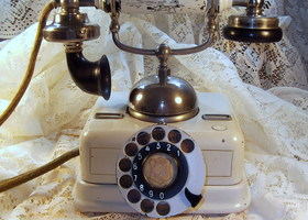 Antique Telephone - Danish