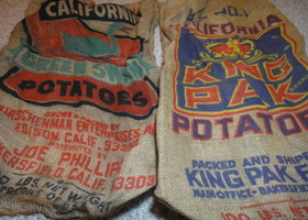 Set of 2 Potato Sacks