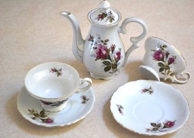 6 piece - tea/coffee set (1940`s)