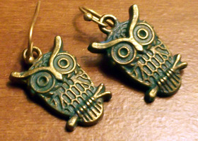 Whooos listening? Patina Owls!