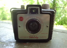 Vintage Kodak Brownie Holiday Camera