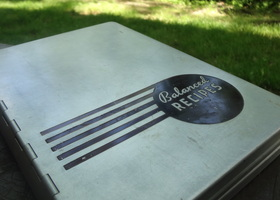 1930s Aluminum Pillsbury Cookbook