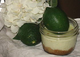 KEY LIME PIE IN A JAR SWEET AND TART 8 OUNCES