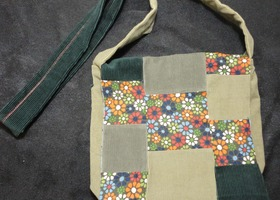 Patchwork Mini-Messenger Bag