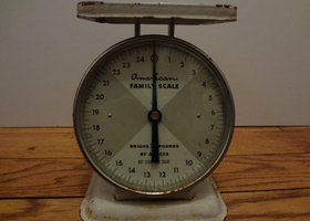 Rustic Old Scale