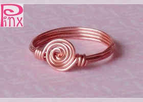 Simplicity Rose Custom Ring by Pinx Jewelry