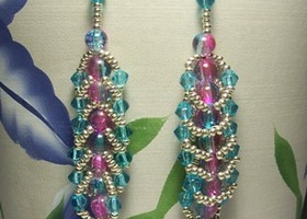 One of a kind - Beaded Earrings