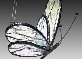 3D Stained Glass Butterfly - Cara Mia