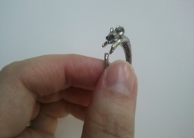 Cute Mouse Ring Adjustable