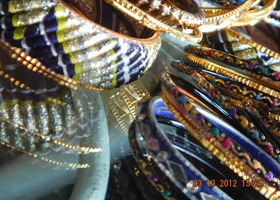 set of bangles from India