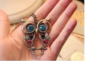 Cute owl Chain Necklace
