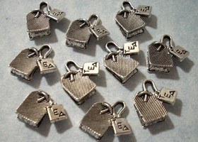 25 Tea Bag Charms