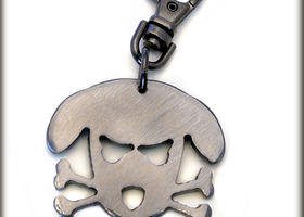Outlaw Doggie Key Chain by WATTO