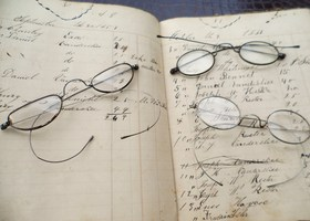 3 Pairs of Antique Spectacles