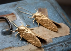 Cicada Song Earrings