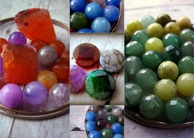 Faceted Gemstone destash lot for Jewelry Makers