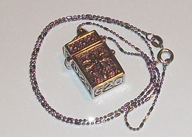 Wish Locket with chain and Bonus Tree of Life Charm :-)