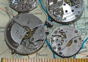 "Vintage Antique Watch Movements Steampunk ""G"""