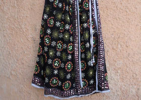 BOHEMIAN BLACK GYPSY SKIRT