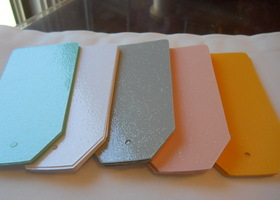 "Shiny Glitter TAGS 4 1/4"" by 2 1/4""-LARGE-40"