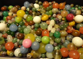 Premium Drilled Gemstone Bead Lot.