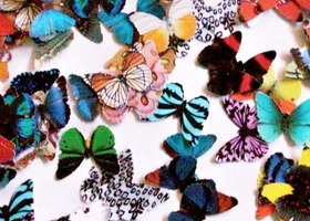 Paper Butterflies, Embellishment For Scrapbooking
