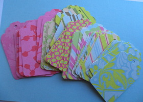 50 Amy Butler Gift Tags