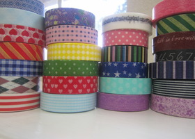 10 Random Rolls of Washi Tape