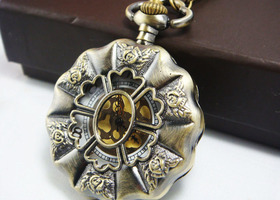 Beautiful Watch Necklace