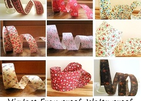 15 Yards Fabric Ribbon