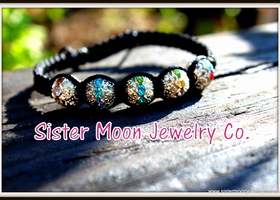 Super Funky Disco Ball Crystal Shamballa Bracelet