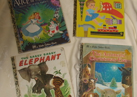 Lot of 4 Little Golden Books Vintage