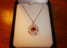 Ruby Pendant Kay's Jewelers