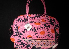 Vera Bradley NWT Metropolitain Bag/Briefcase Loves Me