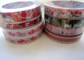 Random Lot of 8 Kawaii Deco Tape Rolls