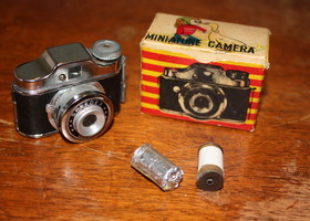 Vintage Speedex Subminiature Spy Camera