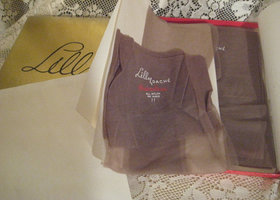 2 Pr Rare Lilly Dache Nylon Stockings sz11 Seamless